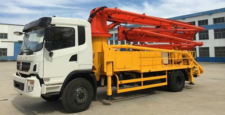 Concrete Boom Pump Truck